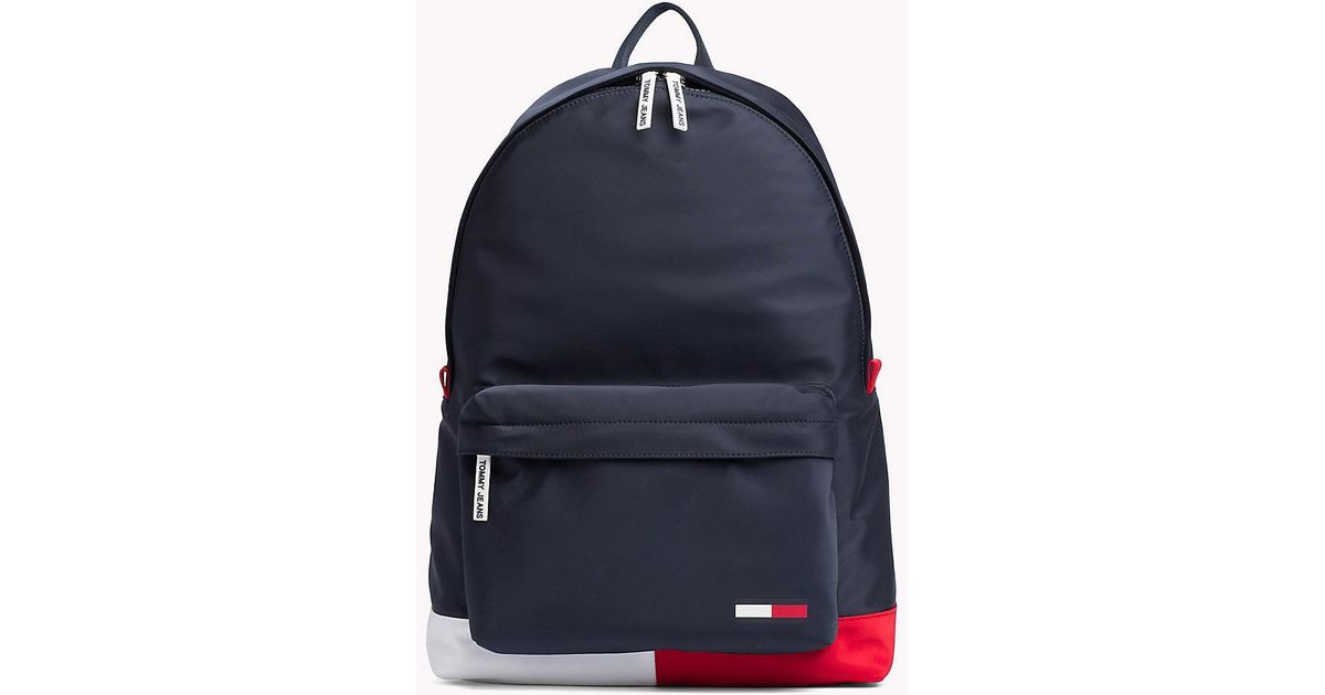 ce6a8b268c Tommy Hilfiger Tommy Jeans Classic Backpack in Blue for Men - Lyst