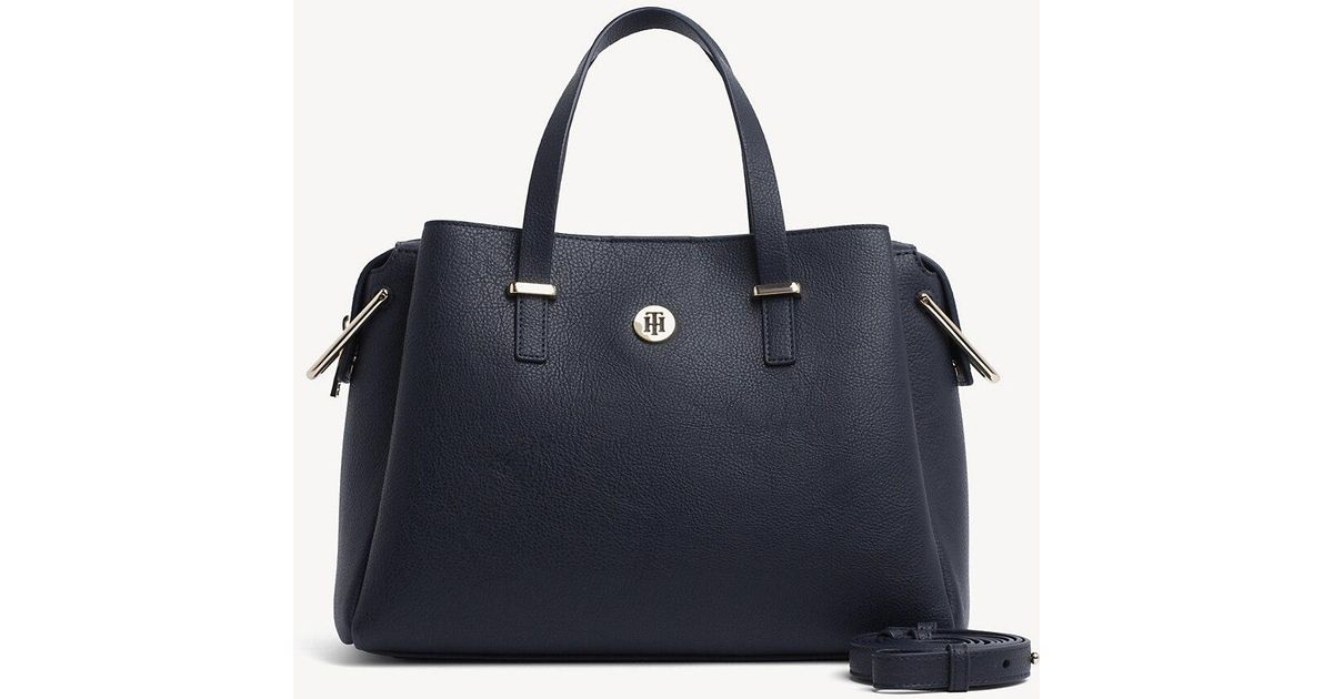 ca41d837e Tommy Hilfiger Th Core Satchel in Blue - Lyst