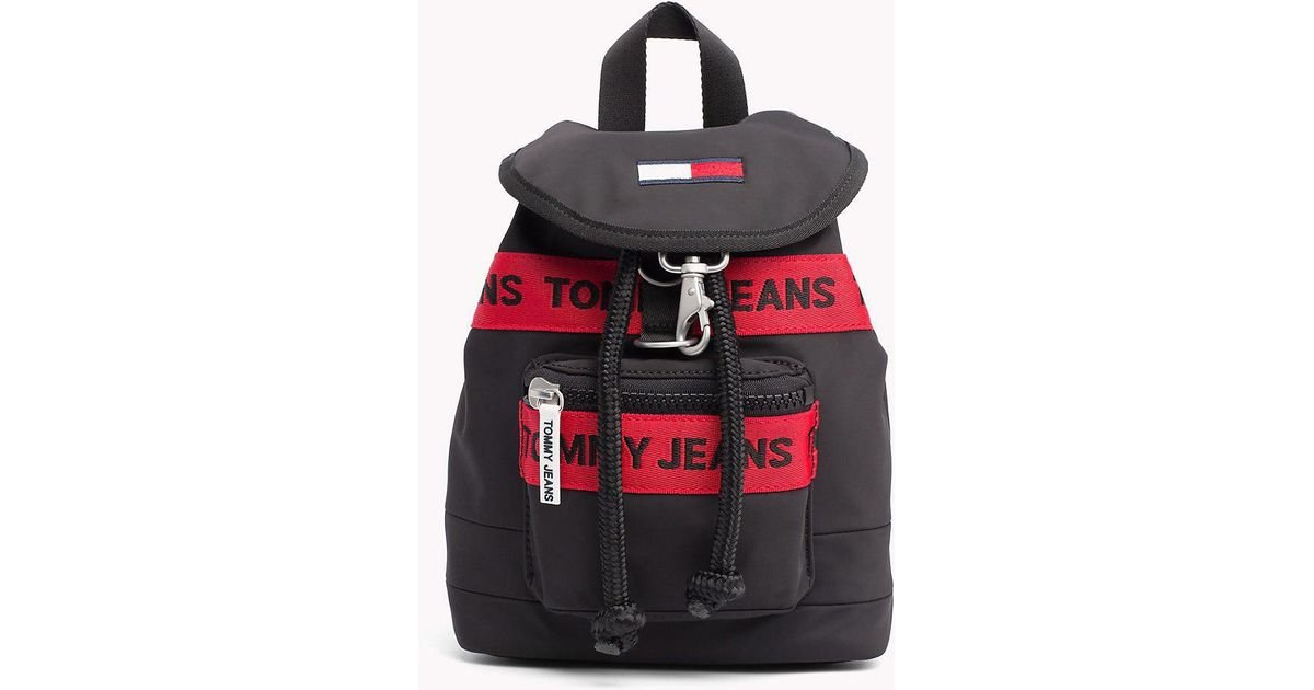 76bc9b79 Tommy Hilfiger Heritage Mini Backpack in Black - Lyst