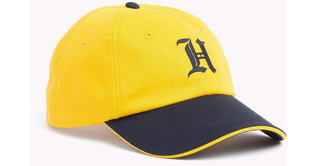 837882205e8e44 Tommy Hilfiger Lewis Hamilton Baseball Cap in Yellow for Men - Lyst