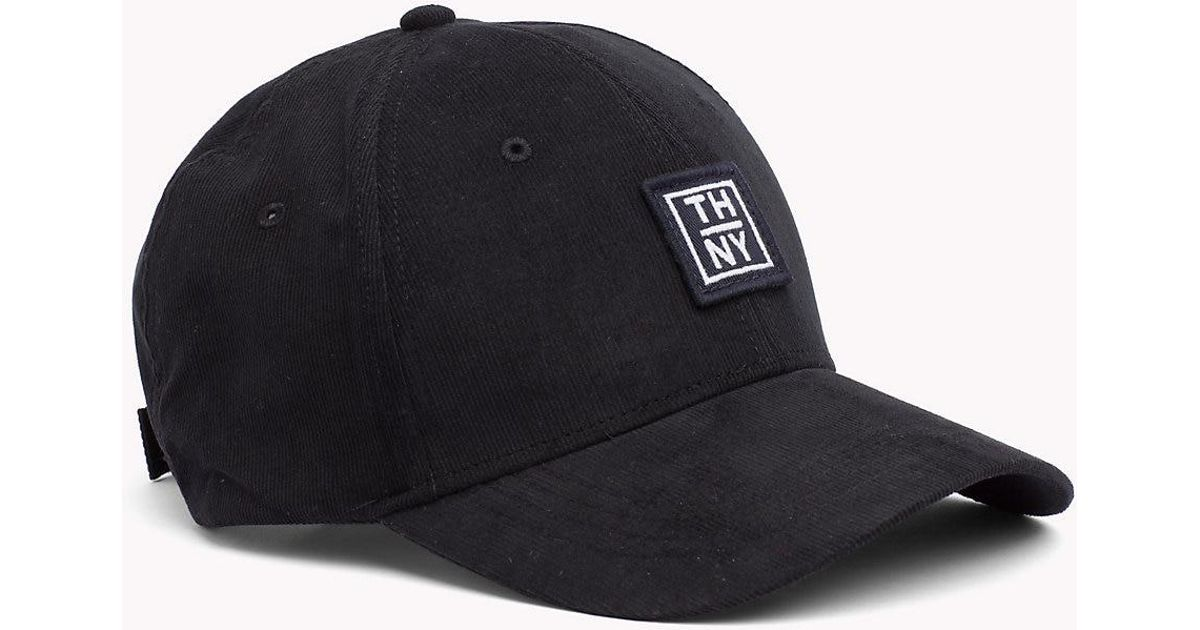 Tommy Hilfiger Nyc Cap in Black for Men - Lyst 055f4376e81