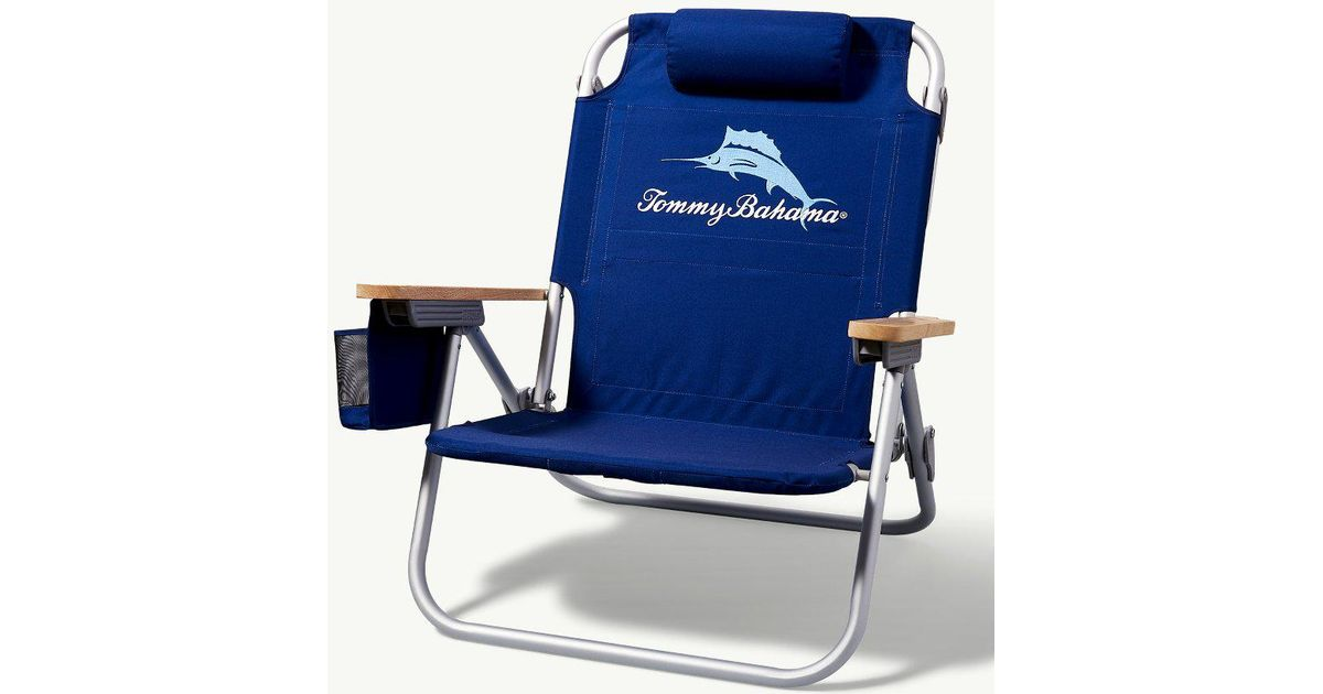 Lyst   Tommy Bahama Blue Marlin Deluxe Backpack Beach Chair In Blue For Men