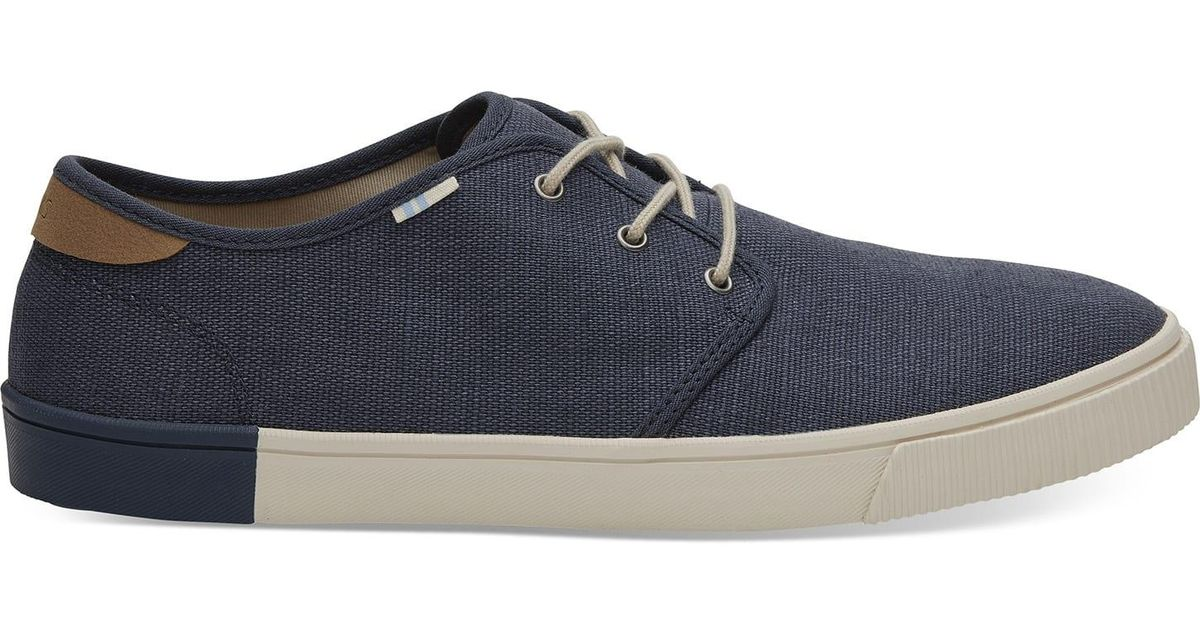 9f766511194 Lyst - TOMS Oceana Heritage Canvas Men s Carlo Sneakers Topanga Collection  in Blue for Men