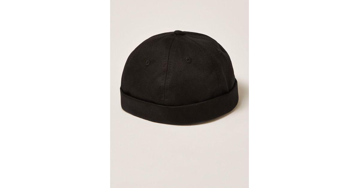 premium selection 35cc3 57fc6 Nicce London Mini Docker Hat in Black for Men - Lyst