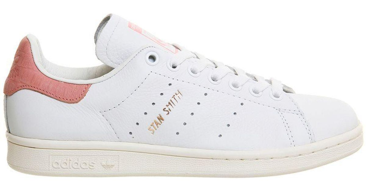 factory authentic c0243 29211 Office - White Stan Smith Trainers By Adidas Originals - Lyst