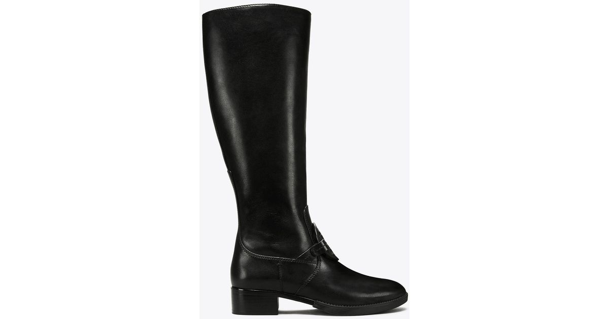 60aadb215aa Lyst - Tory Burch Miller Pull-on Boot in Black