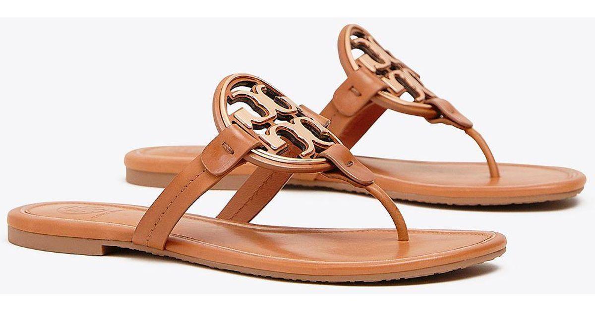 20f28e0d50883 Tory Burch Miller Metal-logo Sandal