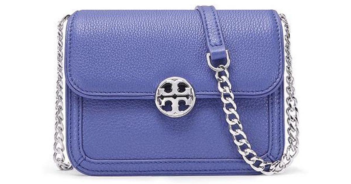 5a23270fb51 Lyst - Tory Burch Duet Chain Micro Shoulder Bag