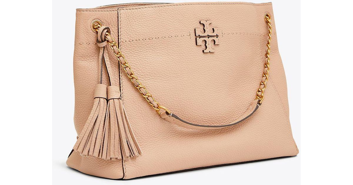 c766bab8d185 Tory Burch Mcgraw Chain-shoulder Slouchy Tote