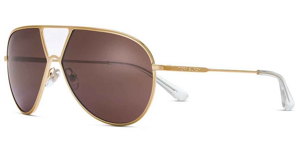 Women's Full-bridge Pilot Sunglasses