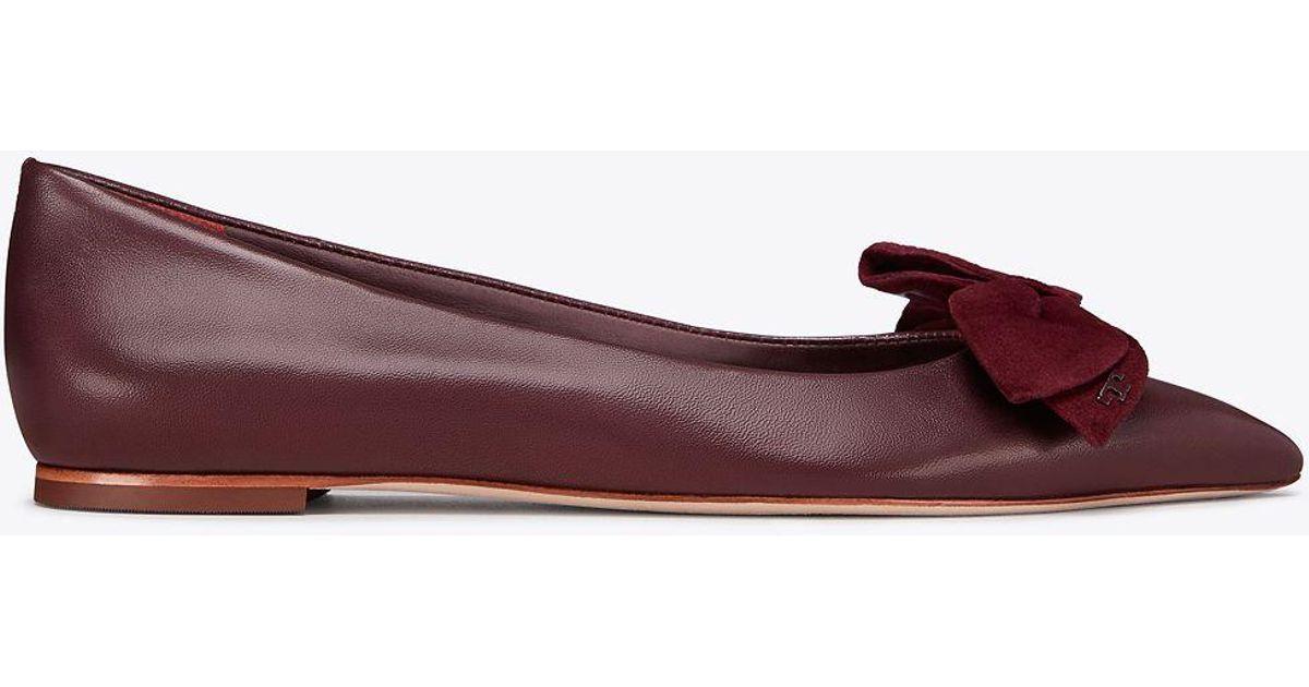 2049b04c9 Tory Burch Rosalind Ballet Flat   651   Skimmers - Lyst