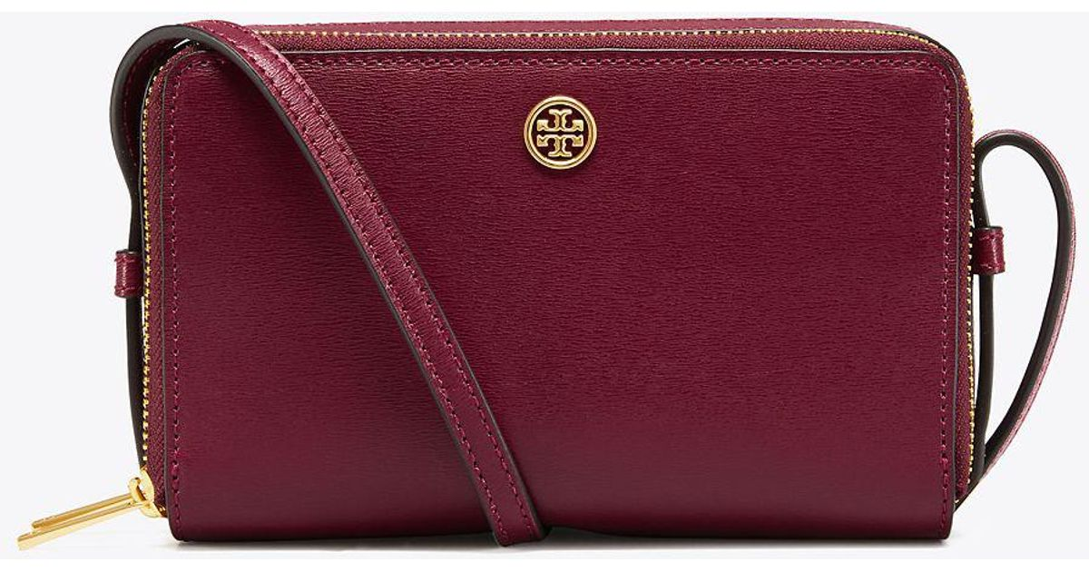 b75a70e7fd99 Lyst - Tory Burch Parker Double-zip Mini Bag