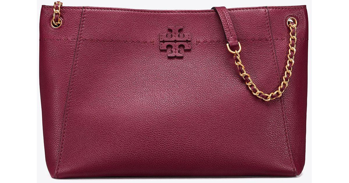 49a241995b2 Tory Burch Mcgraw Chain-shoulder Slouchy Tote
