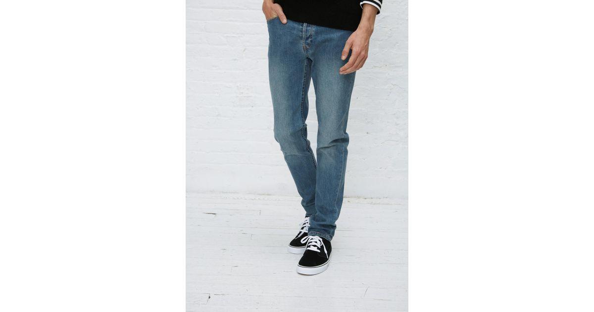 79b6efa19a809 Lyst - A.P.C. Indigo Delave Petit New Standard Washed Stretch Jean in Blue  for Men
