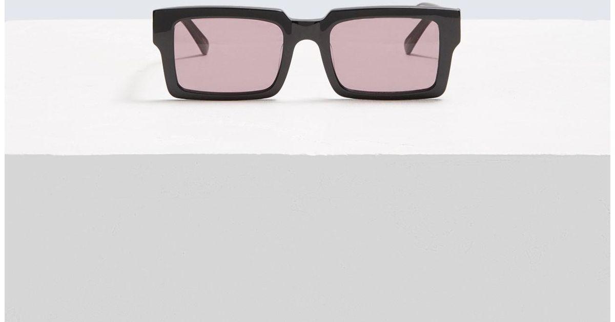 f68ec9c2ca0 Karen Walker Jarvis Sunglasses in Black - Lyst