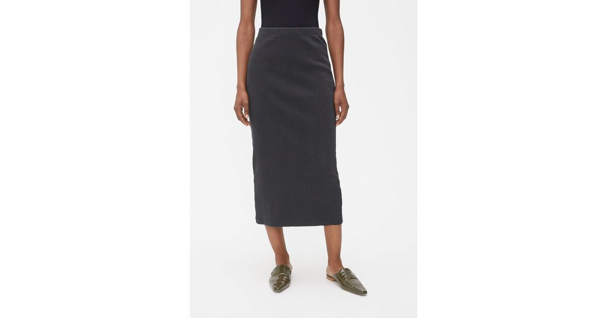 2279a67c83 Our Legacy Rib Tube Skirt - Lyst