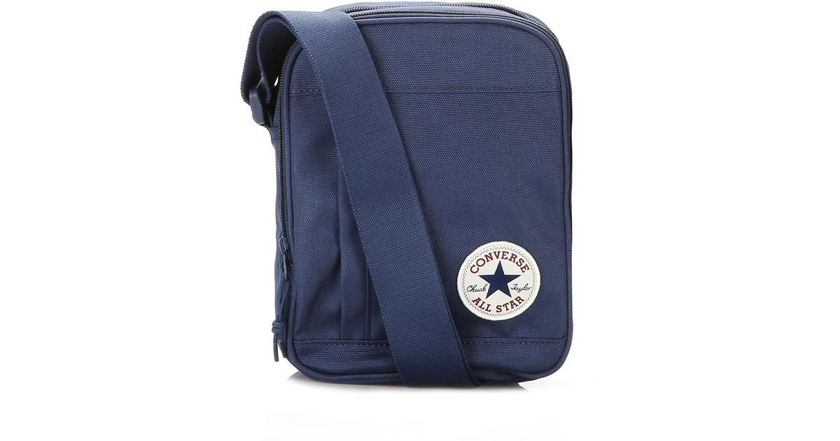 Converse Navy Cross Body Bag in Blue for Men - Save 46% - Lyst 569165fafea45