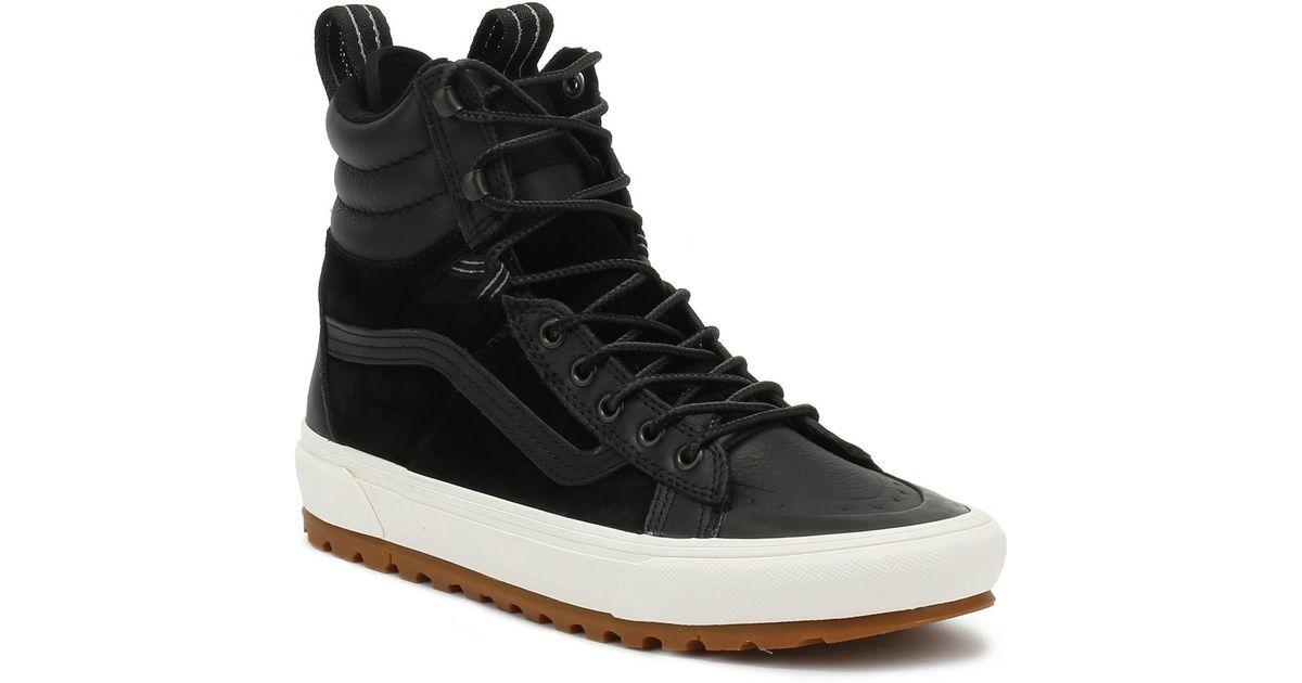 3af2f9f7e8 Lyst - Vans Sk8-hi Mte Dx Black Boots in Black for Men