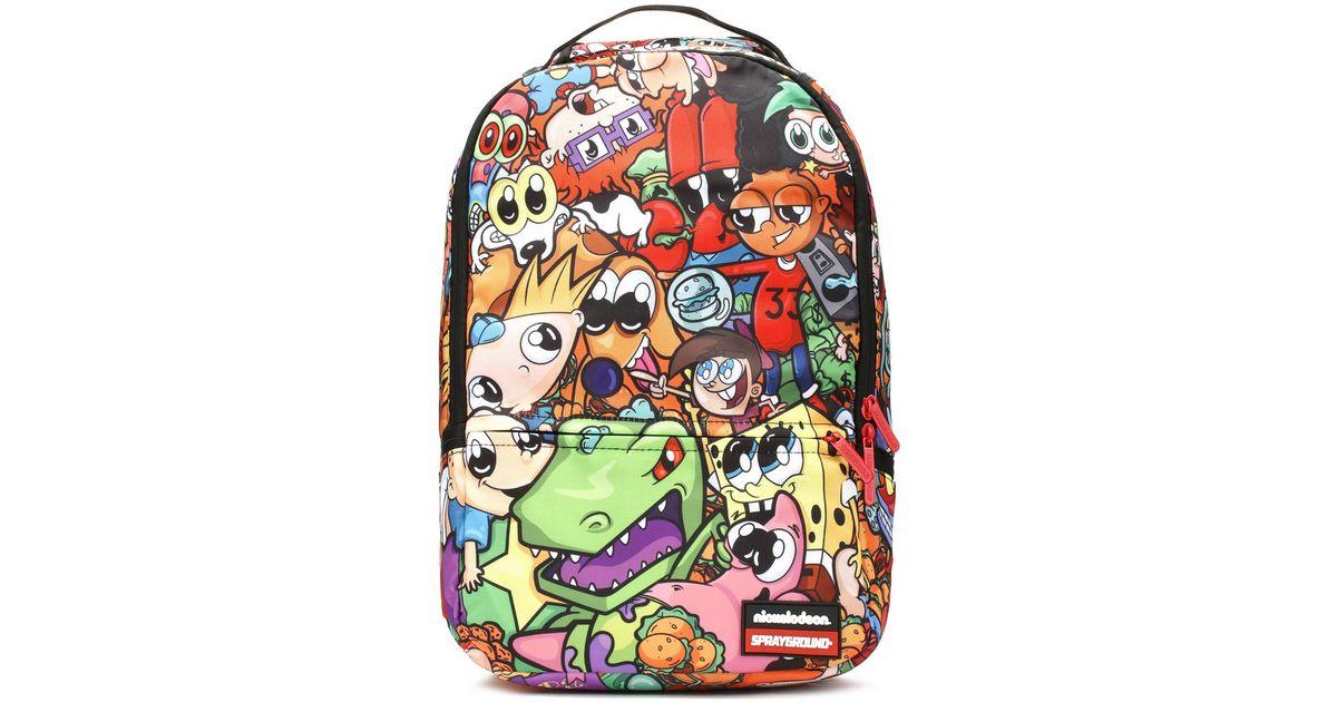 74e3f6c50e50 Lyst - Sprayground Anime 90 s Nickelodeon Cargo Backpack