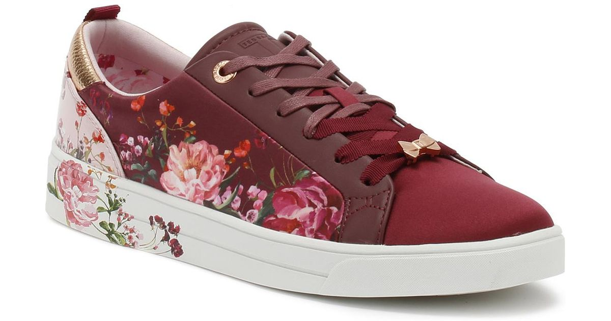 af55e530f13e Ted Baker Womens Serenity Pink Giellit Trainers in Pink - Lyst