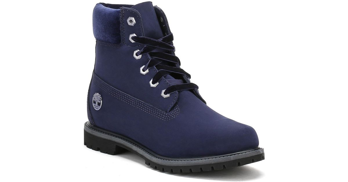 6f9d78e0cba086 Timberland Womens Jewels Pack Dark Evening Blue Port 6 Inch Boots in Blue -  Lyst