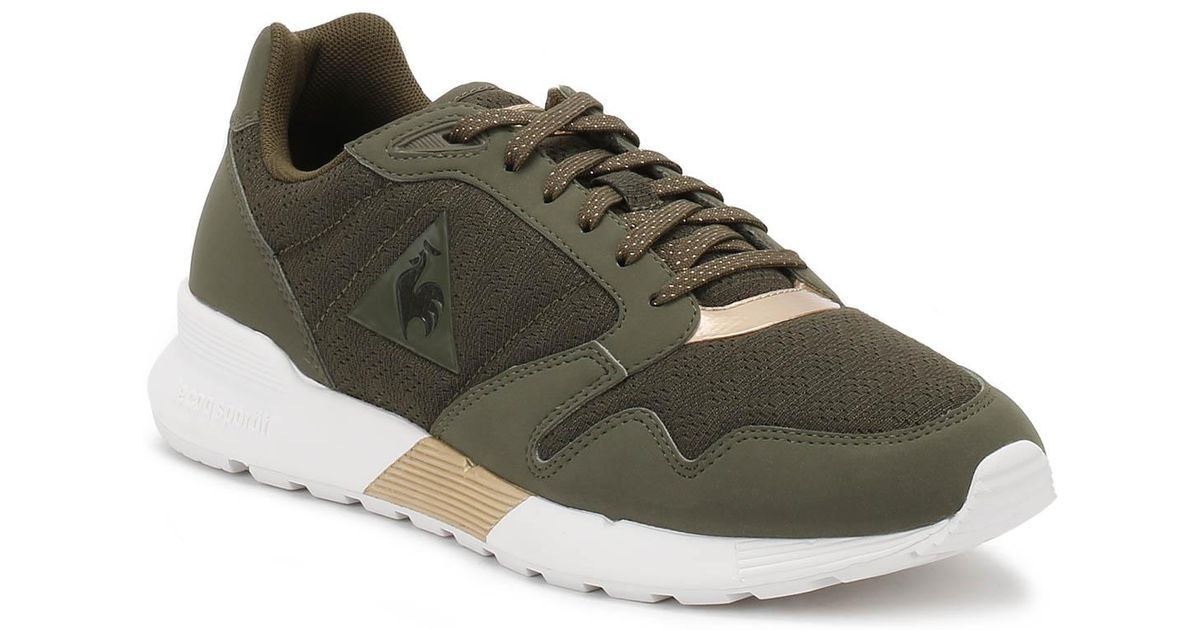 95850dc89ea0 Lyst - Le Coq Sportif Womens Metallic Olive rose Gold Omega Xw Trainers in  Metallic for Men