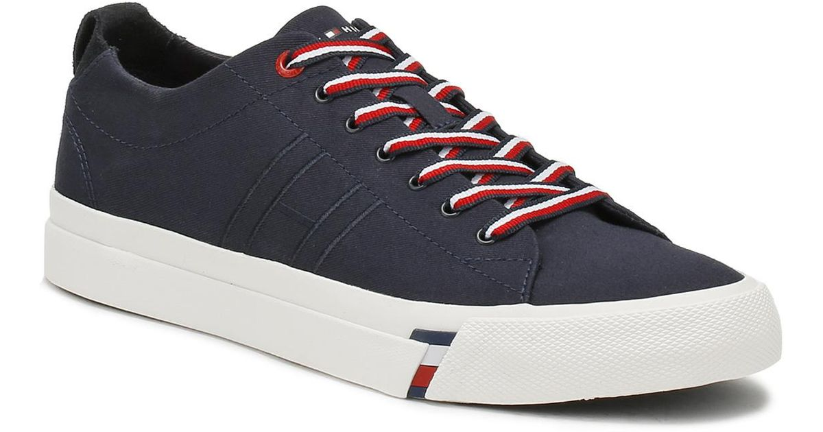 d29444734 Tommy Hilfiger Mens Midnight Blue Dino 1d Trainers in Blue for Men - Lyst