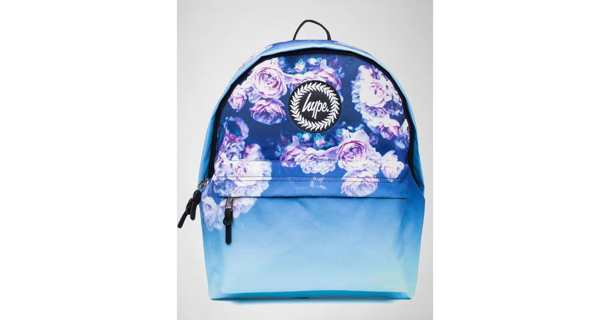 52b2c5b0a1 Hype Rose Fade Backpack Aw17-389 Bags in Blue - Lyst