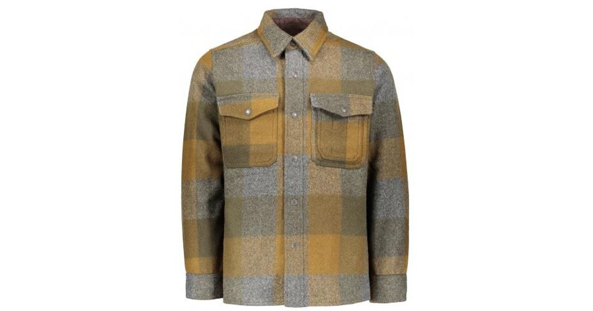 0223664f Filson Mackinaw Jac Shirt for Men - Lyst