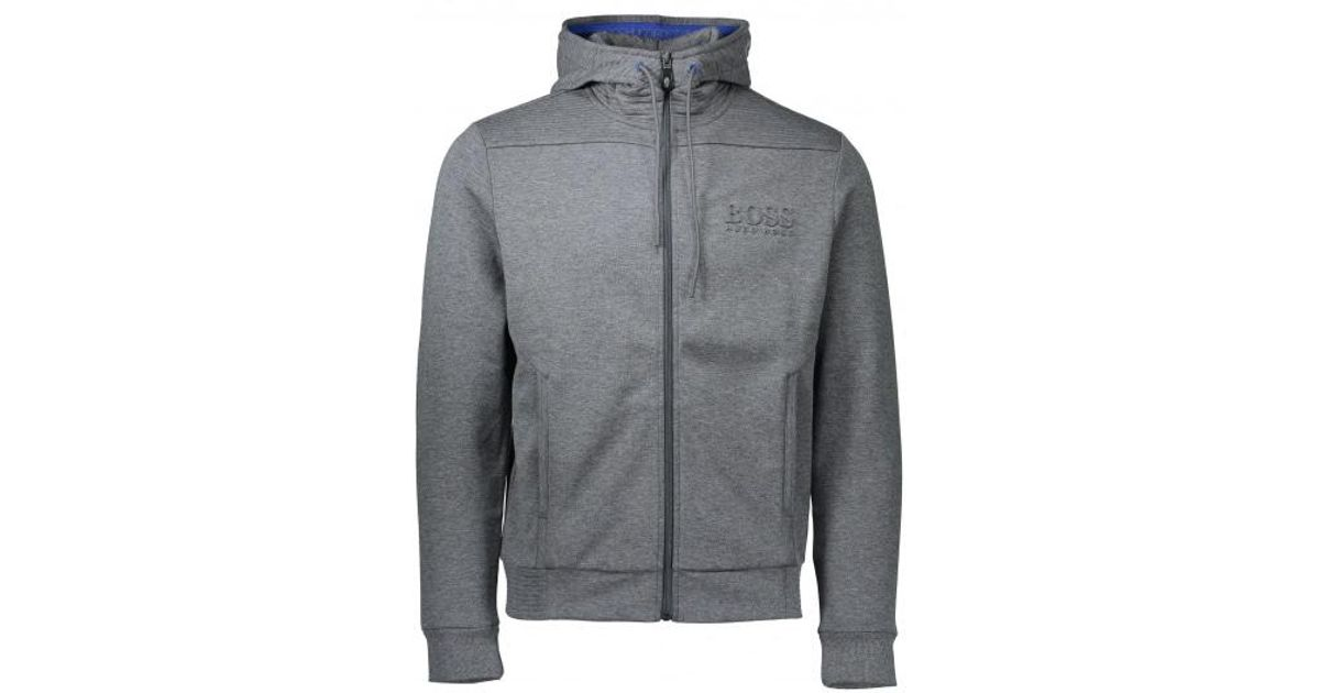 ed7ffb40ce18 BOSS Saggy Jacket in Gray for Men - Lyst
