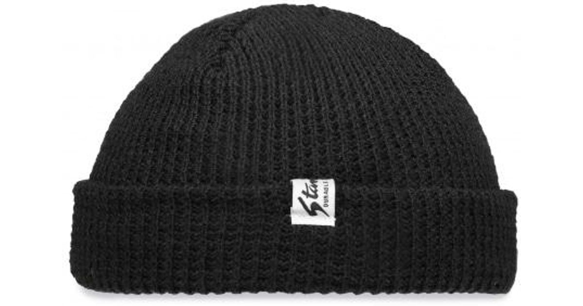 bdcfb82cfad Lyst - Stan Ray Waffle Skull Cap Beanie in Black for Men