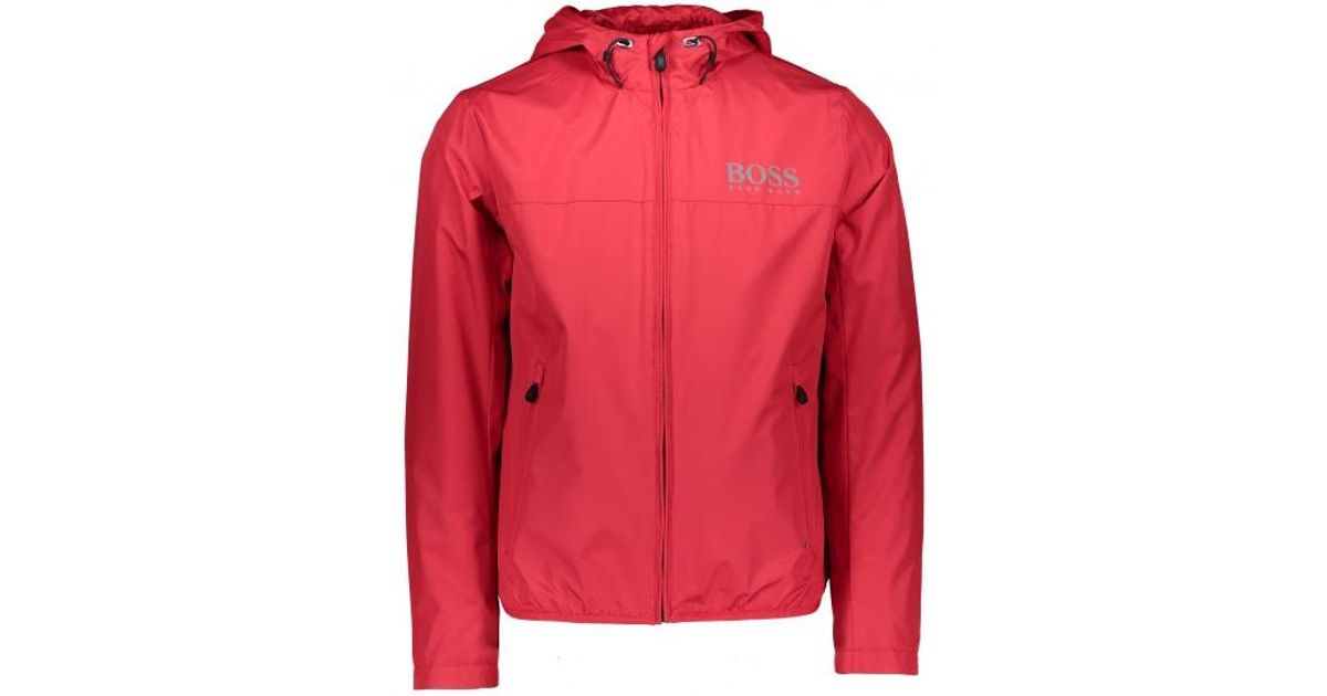 a18065e5cb6a Boss Jeltech Jacket in Red for Men - Lyst