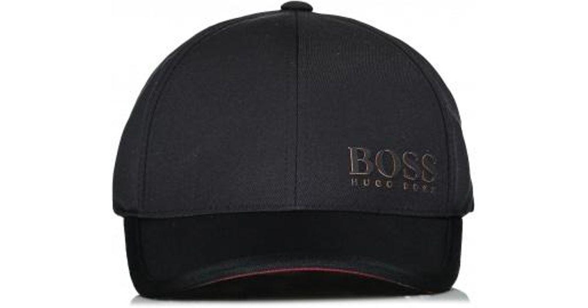 36c7f5cd40d BOSS Boss Cap 1 in Black for Men - Lyst