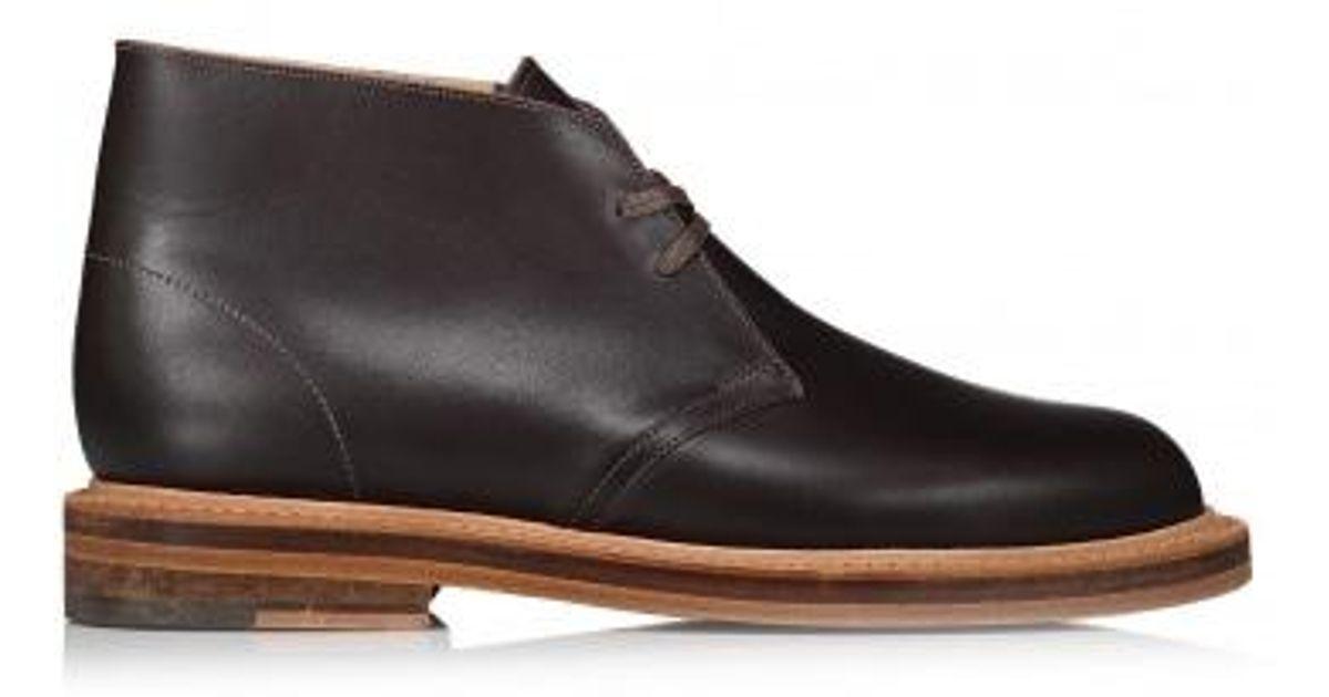 6c53e97bfab Lyst - Clarks Desert Welt Leather in Brown for Men
