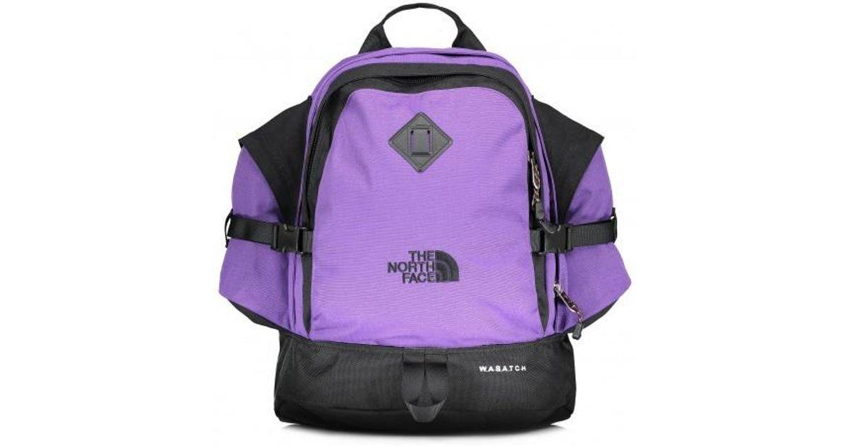 gedetailleerde foto's word nieuw ziet er goed uit schoenen te koop The North Face Purple Wasatch Reissue for men