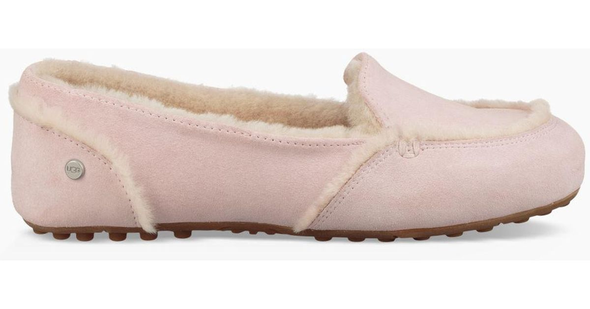 6f0c07a73e6 Lyst - UGG Women s Hailey Loafer in Pink