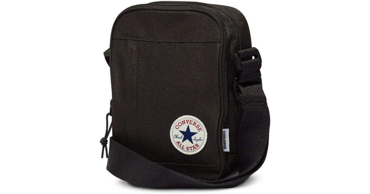 Converse All Star Cross Body Messenger Bag in Black for Men - Lyst 4577e58aeef88
