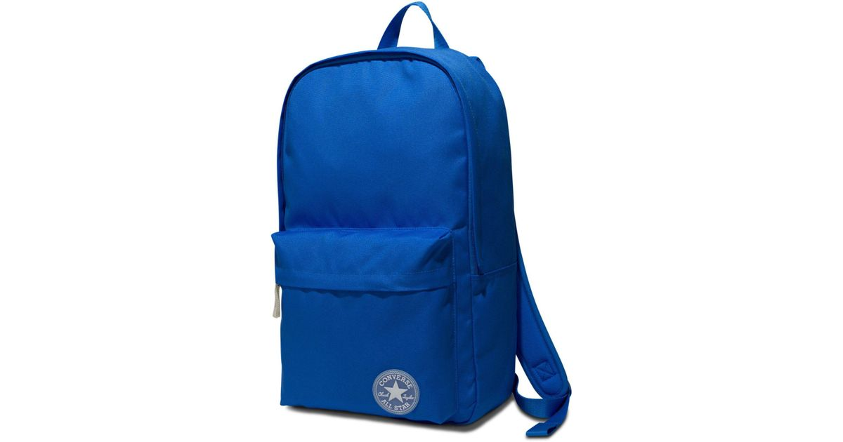 de84edcc327e2 Converse All Star Core Bright Backpack Bag in Blue - Lyst