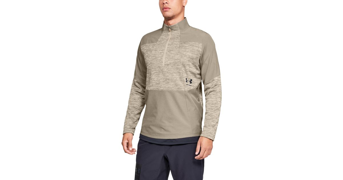 329a32c4019cce Under Armour Men's Ua Storm Cyclone Coldgear® 1⁄2 Zip in Natural for Men -  Lyst