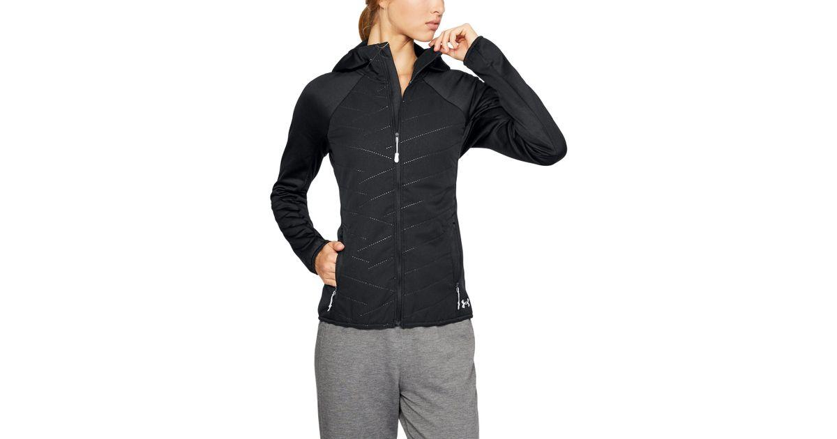 6e254a02 Under Armour Women's Coldgear® Reactor Exert Jacket in Black - Lyst