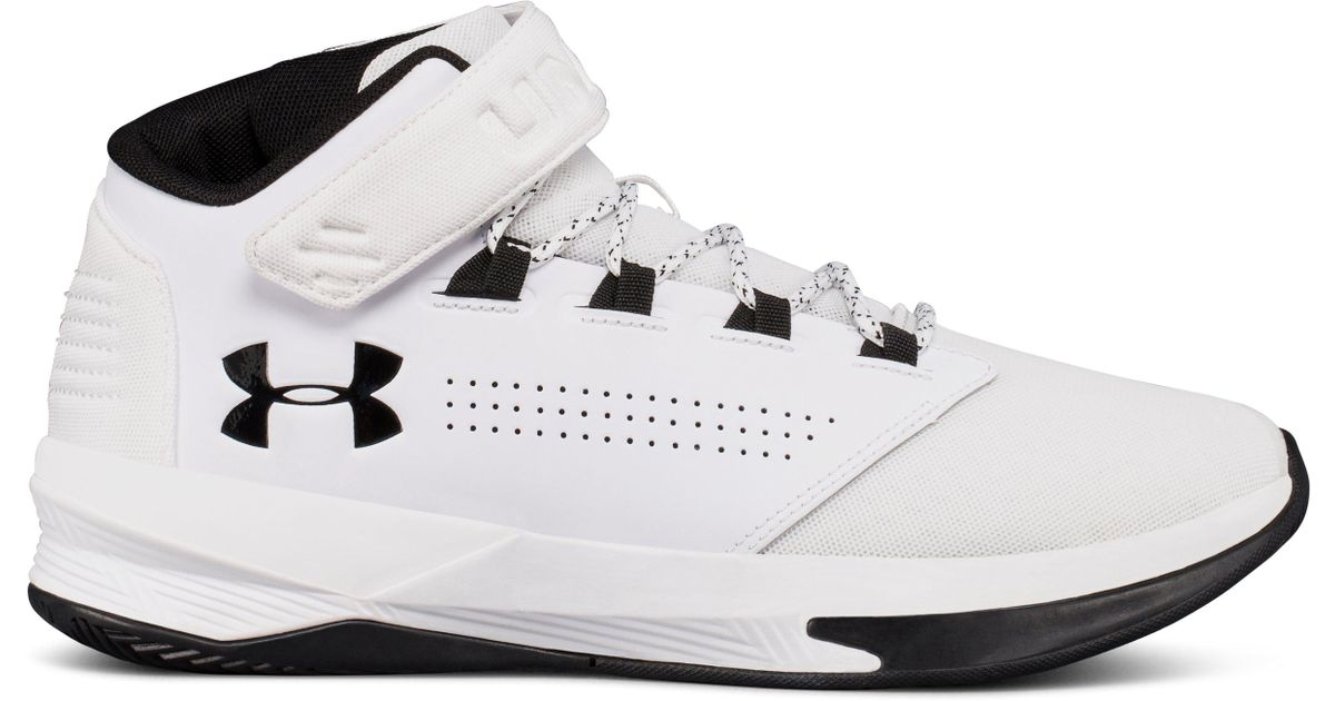 Lyst - Under Armour Men s Ua Get B Zee Basketball Shoes in White for Men 0a21b9b2f4