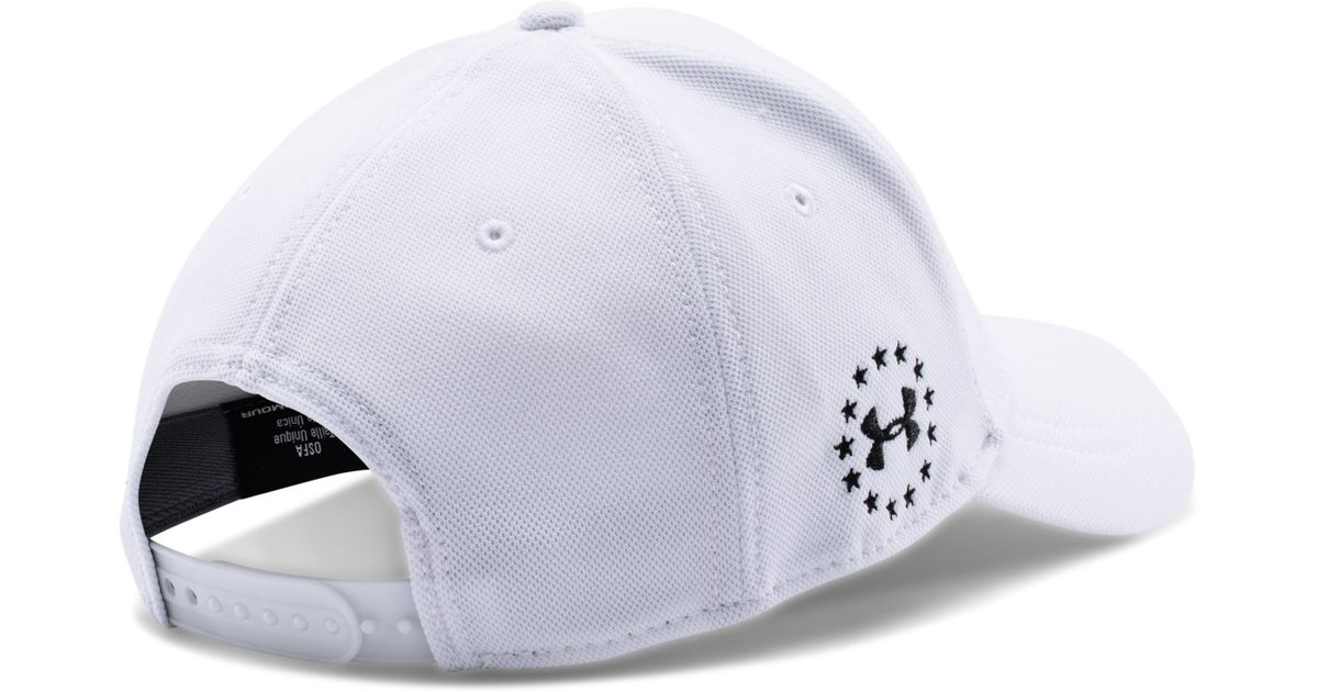b9e0ff84084ad Lyst - Under Armour Men s Ua Wwp Snapback Cap in White for Men