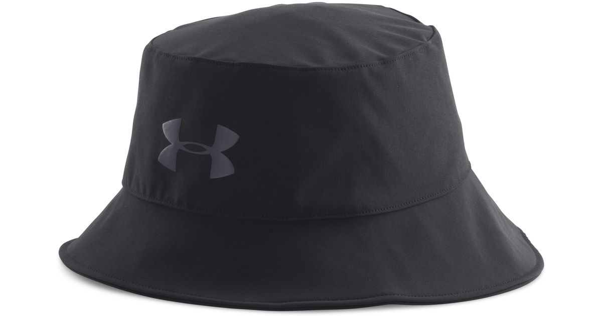 6199462a48b Lyst - Under Armour Men s Ua Gore-tex® Bucket Hat in Black for Men