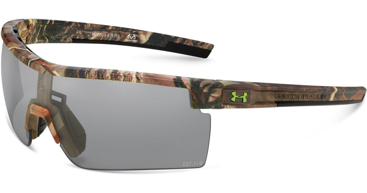 00f22f1603 Lyst - Under Armour Ua Freedom Interchange Camo Tactical Sunglasses for Men