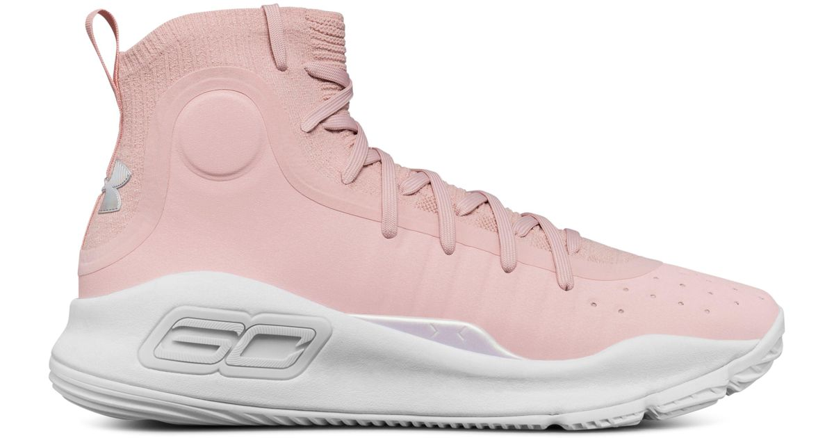 b3830808f6ac ... Black Size  Lyst - Under Armour Men s Ua Curry 4 Basketball Shoes in  Pink for Men  Nike ...