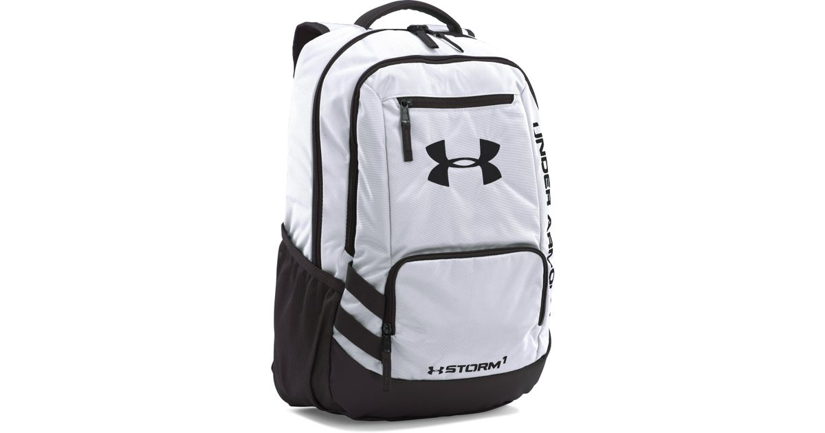 24550224625e Lyst - Under Armour Ua Team Hustle Backpack in Gray