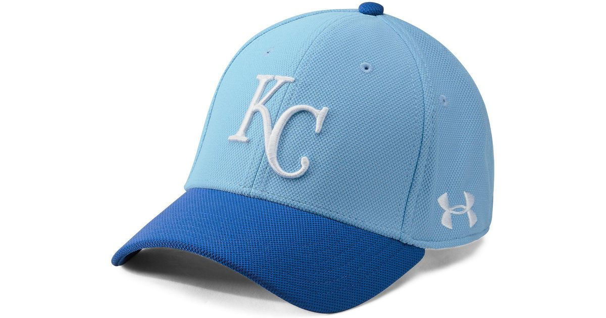 purchase cheap 478c8 b892b ... best lyst under armour mens mlb adjustable blitzing cap in blue for men  8dc17 cc1a1