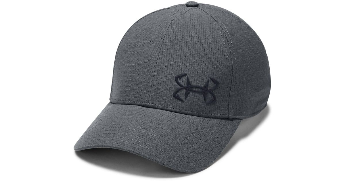0c8e86f91b7 Lyst - Under Armour Men s Ua Fish Coolswitch Armourventtm Cap in Gray for  Men