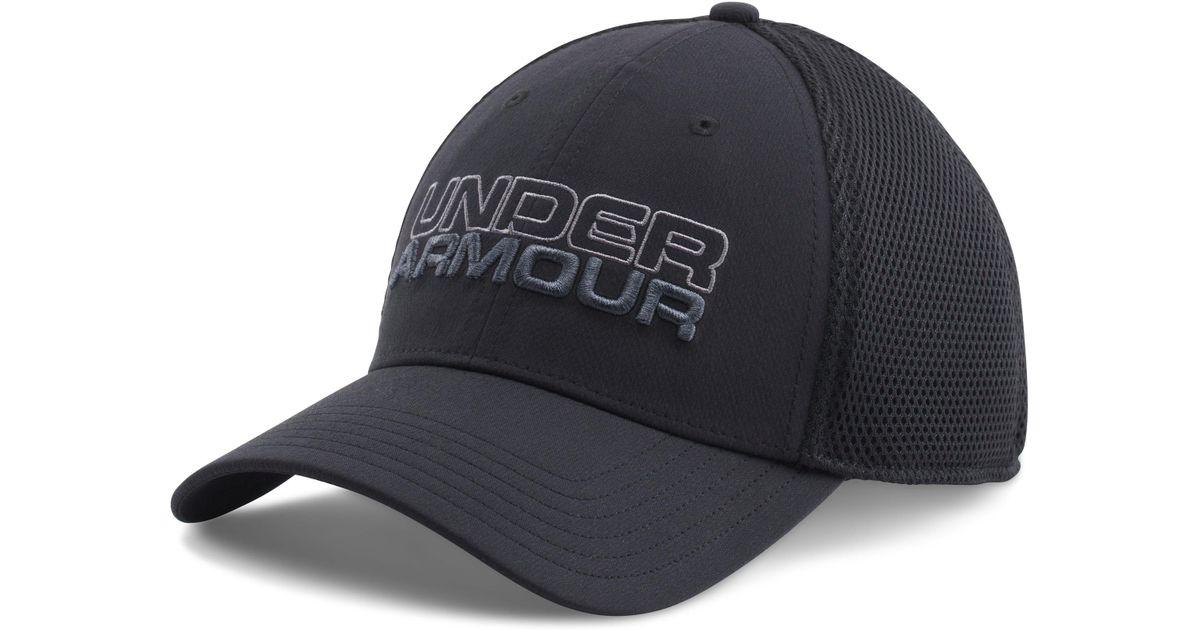 0bc56c3ca5b Lyst - Under Armour Men s Ua Sportstyle Mesh Cap in Black for Men