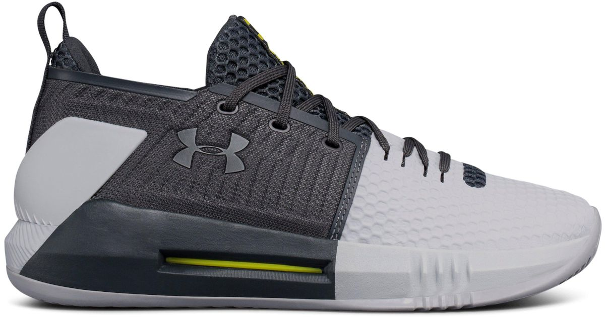 a368657303d5 Under Armour Men s Ua Drive 4 Low Basketball Shoes in Gray for Men - Lyst